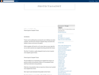 protectagainst.blogspot.com screenshot