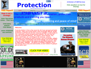 protectionmatters.info screenshot