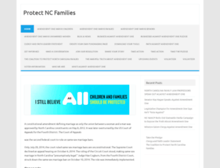 protectncfamilies.org screenshot