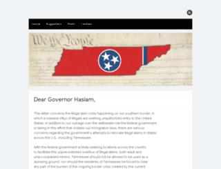 protecttnborders.com screenshot