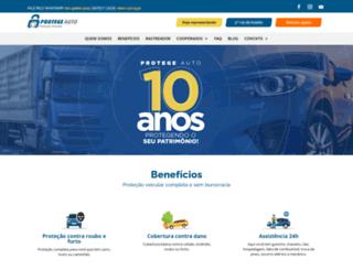 protegeauto.com.br screenshot