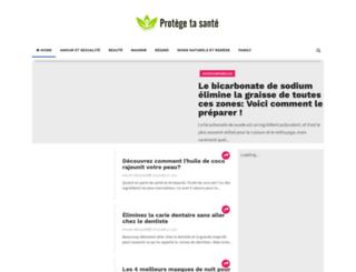 protegetasante1.blogspot.be screenshot