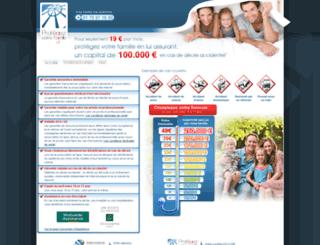 protegezvotrefamille.com screenshot