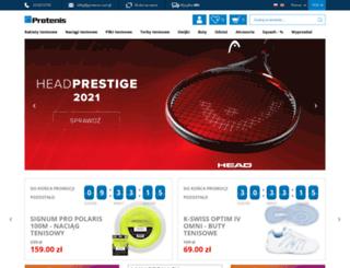 protenis.com.pl screenshot