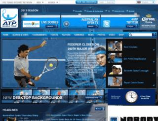 protennislive.com screenshot