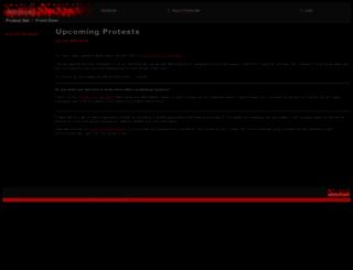 protest.net screenshot