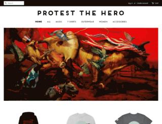 protestthehero.merchnow.com screenshot