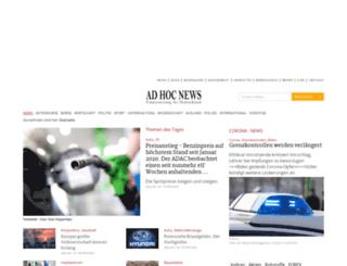 proteus.ad-hoc-news.de screenshot