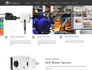 proteusk.com screenshot