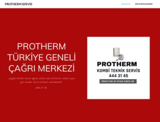 protherm-kombi-servisi.com screenshot