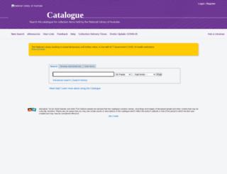 protocat.nla.gov.au screenshot