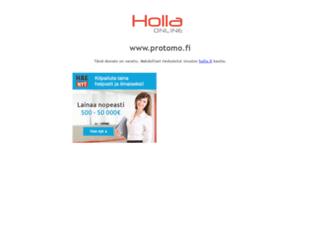 protomo.fi screenshot