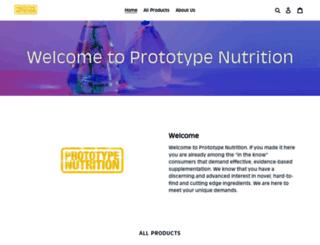 prototypenutrition.com screenshot