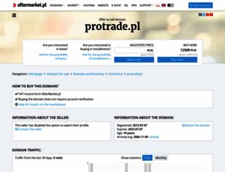 protrade.pl screenshot