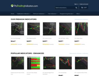 protradingindicators.com screenshot