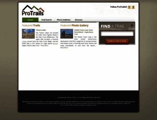 protrails.com screenshot