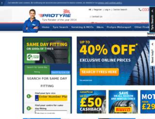 protyre-cms.azurewebsites.net screenshot