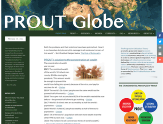 proutglobe.org screenshot
