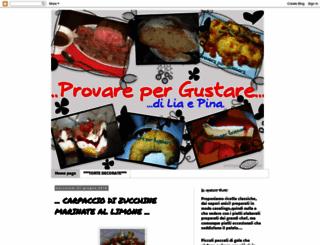 provarepergustare.blogspot.com screenshot