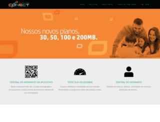 provedorconect.com.br screenshot