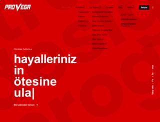 provega.com.tr screenshot