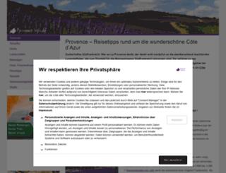 provence-info.de screenshot