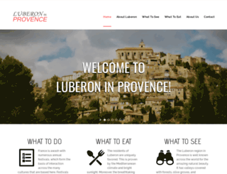 provence-luberon-news.com screenshot