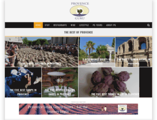 provenceguru.com screenshot