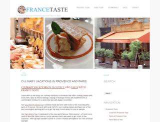 provencetaste.com screenshot