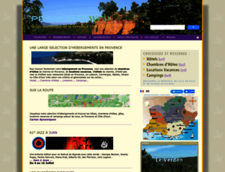 provenceweb.fr screenshot
