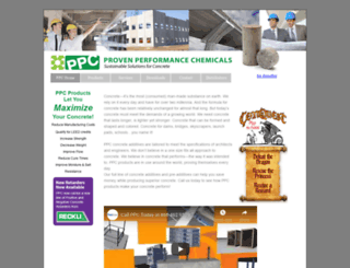 provenperformancechemical.com screenshot