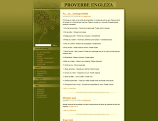 proverbeinengleza.wordpress.com screenshot
