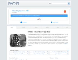 proverbhunter.com screenshot