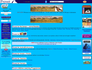 provet.co.uk screenshot