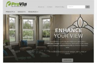 proviaproducts.com screenshot