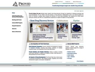 provid.com screenshot