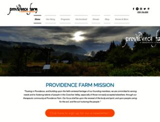 providence.bc.ca screenshot