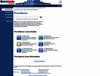 providence.metroguide.com screenshot