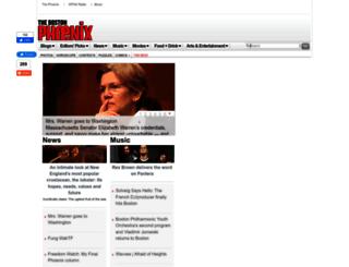 providence.thephoenix.com screenshot