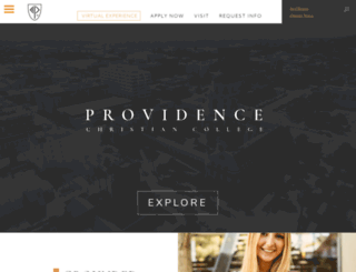 providencecc.edu screenshot