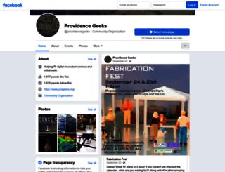 providencegeeks.com screenshot
