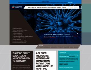providencehealthcare.org screenshot