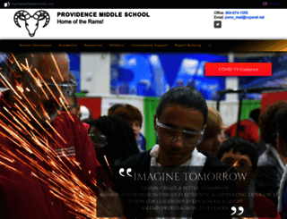 providencems.mychesterfieldschools.com screenshot