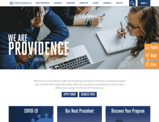 providenceseminary.ca screenshot