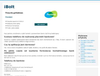 provident.ibolt.pl screenshot
