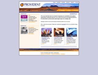 provident.nl screenshot