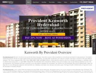 providentkenworthhyderabad.com screenshot