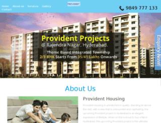 providentprojects.propladder.com screenshot