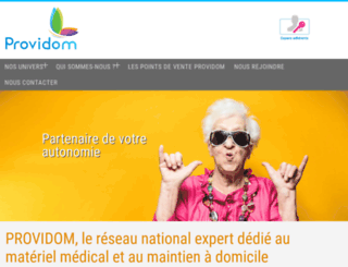 providom.fr screenshot