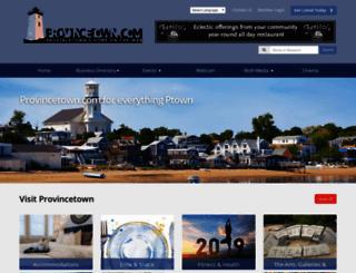 provincetown.com screenshot